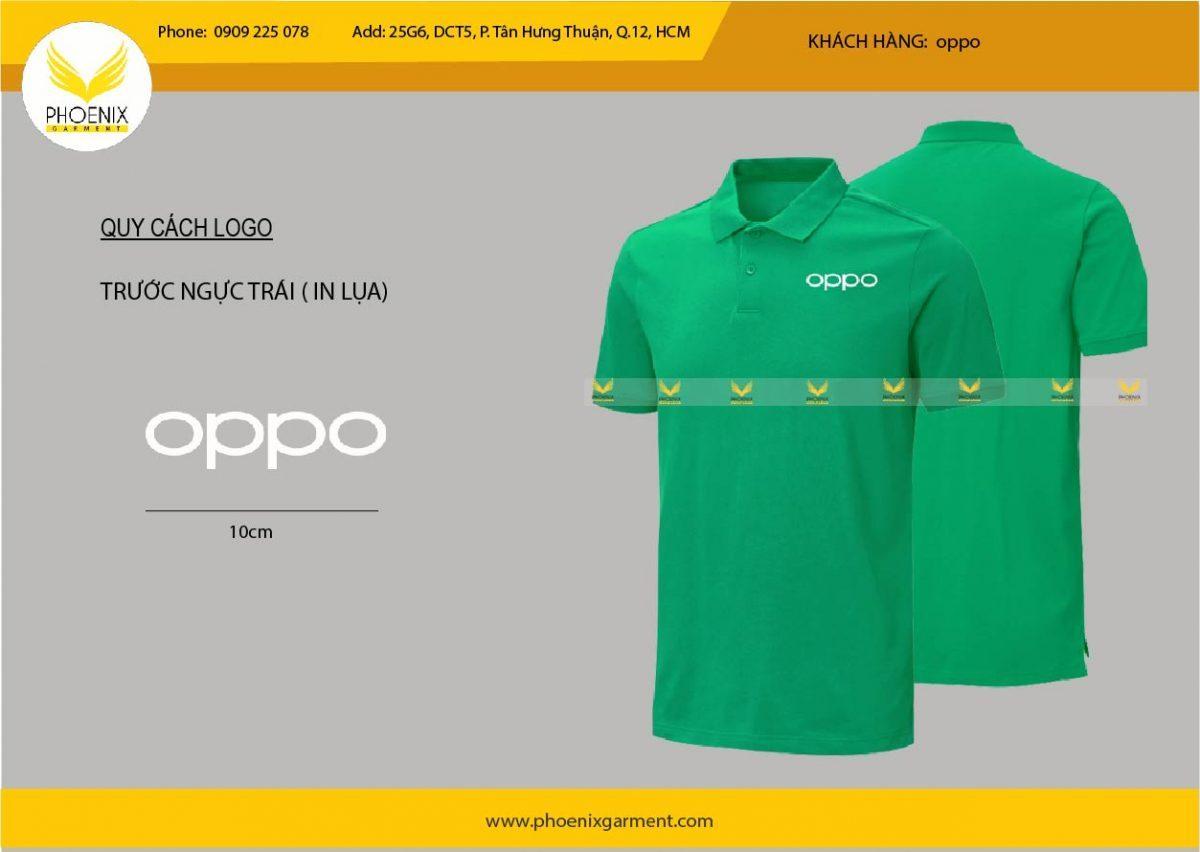 đồng phục nhân viên oppo - phoenix garment