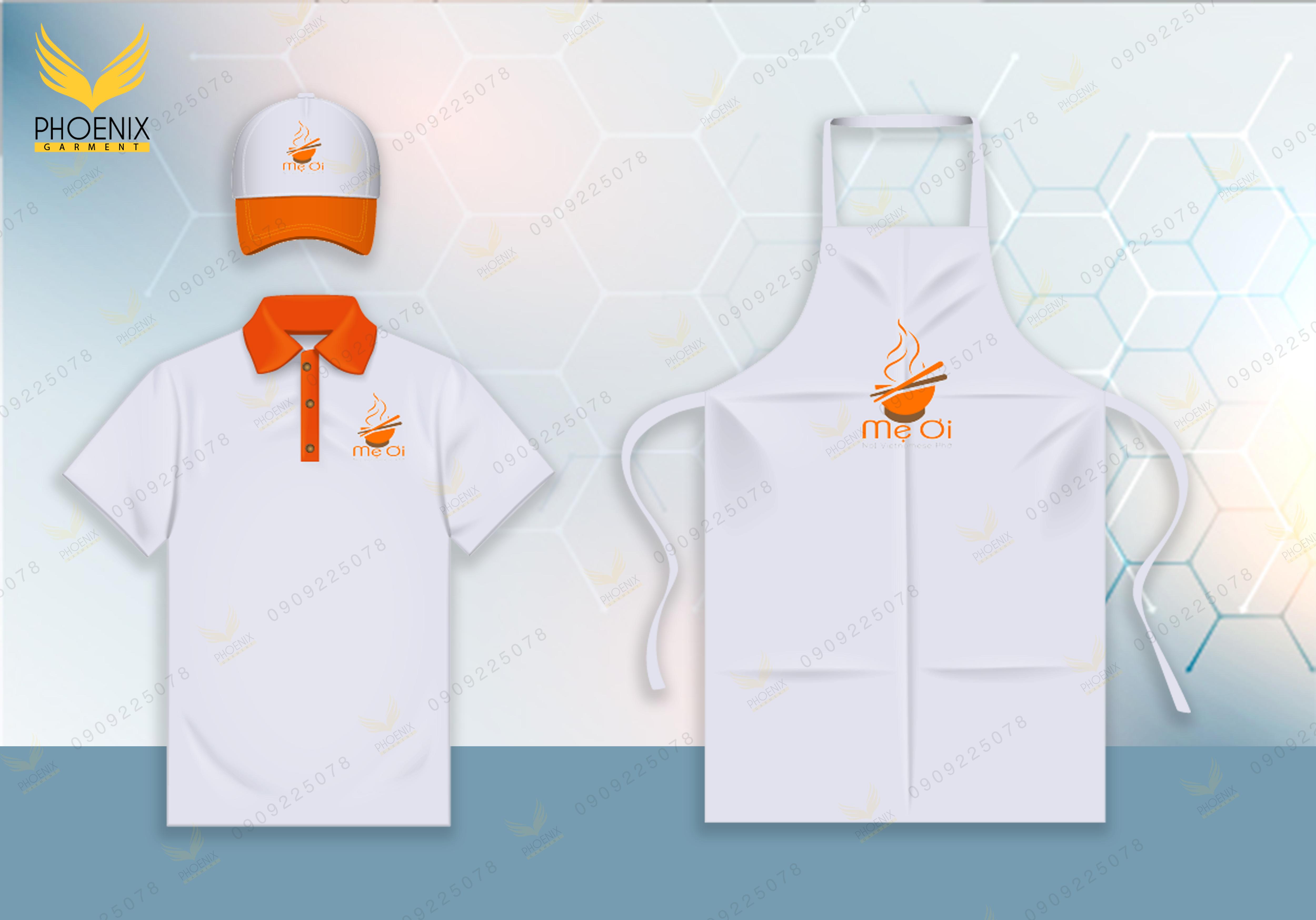 bọ đồng phục nhà hàng - phoenix garment