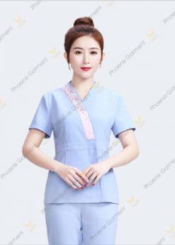may đồng phục nhân viên spa- phoenix garment 2