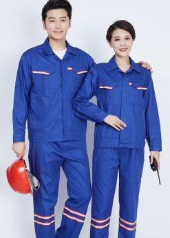 Bộ đồng phục bảo hộ lao động dạ quang - phenix (1)
