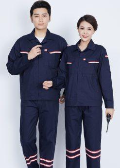 Bộ đồng phục bảo hộ lao động dạ quang - phenix (2)