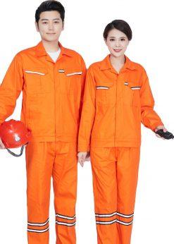 Bộ đồng phục bảo hộ lao động dạ quang - phenix (3)