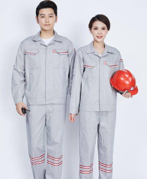Bộ đồng phục bảo hộ lao động dạ quang - phenix (4)