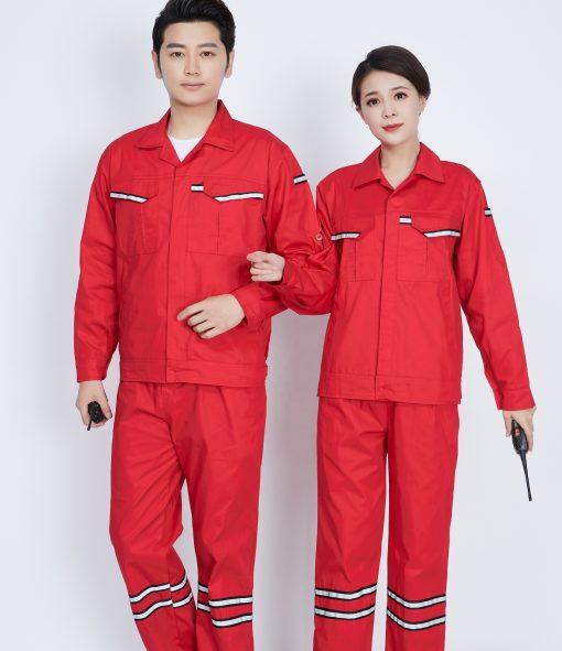 Bộ đồng phục bảo hộ lao động dạ quang - phenix (5)