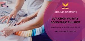lựa chọn vải may áo thun đồng phục phù hợp - phoenix garment