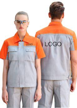 may đồng phục bảo hộ lao động ngắn tay - phoenix (1)