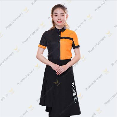 may đồng phục nhà hàng cao cấp hcm