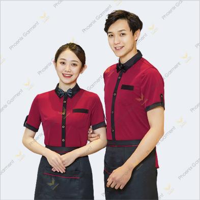 đồng phục phục vụ cao cấp - phoenix