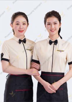Đồng phục nhà hàng đẹp cao cấp - phoenix
