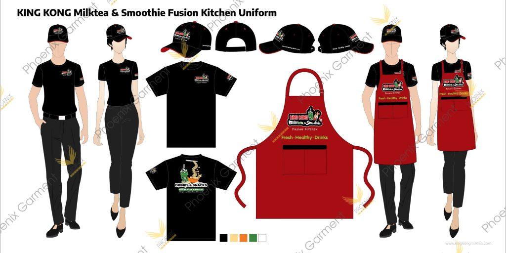 may đồng phục nhà bếp - phoenix garment(5